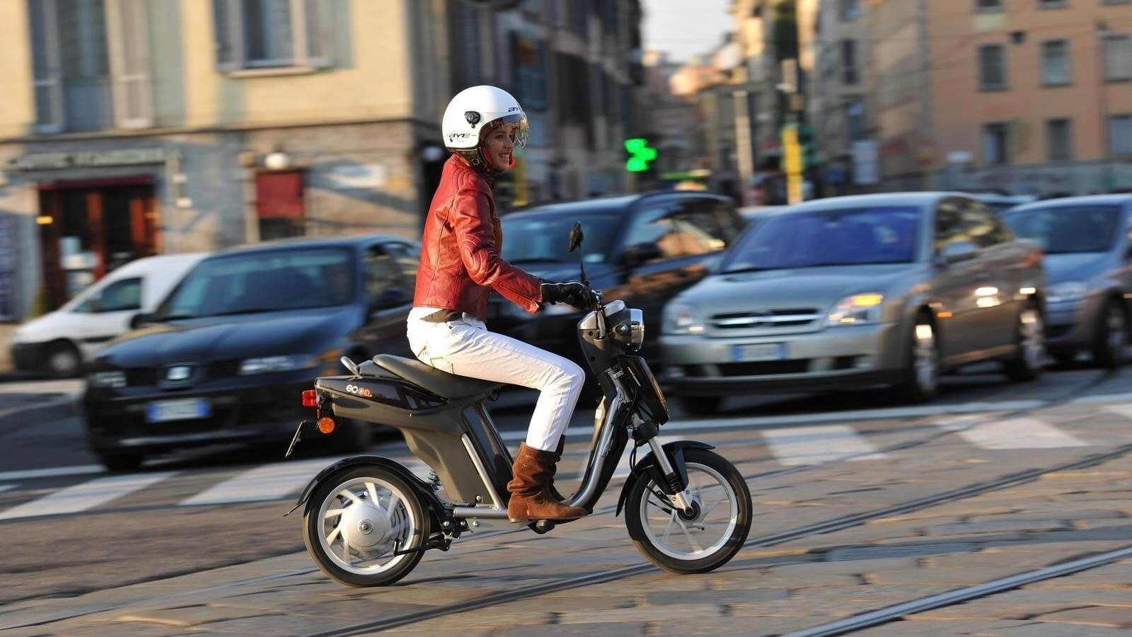 Yamaha elektrische scooter