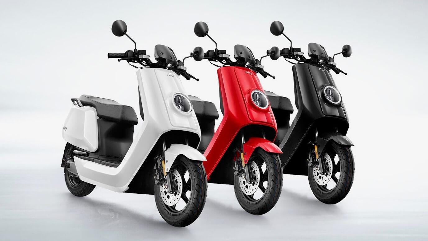 elektrische Niu N scooter