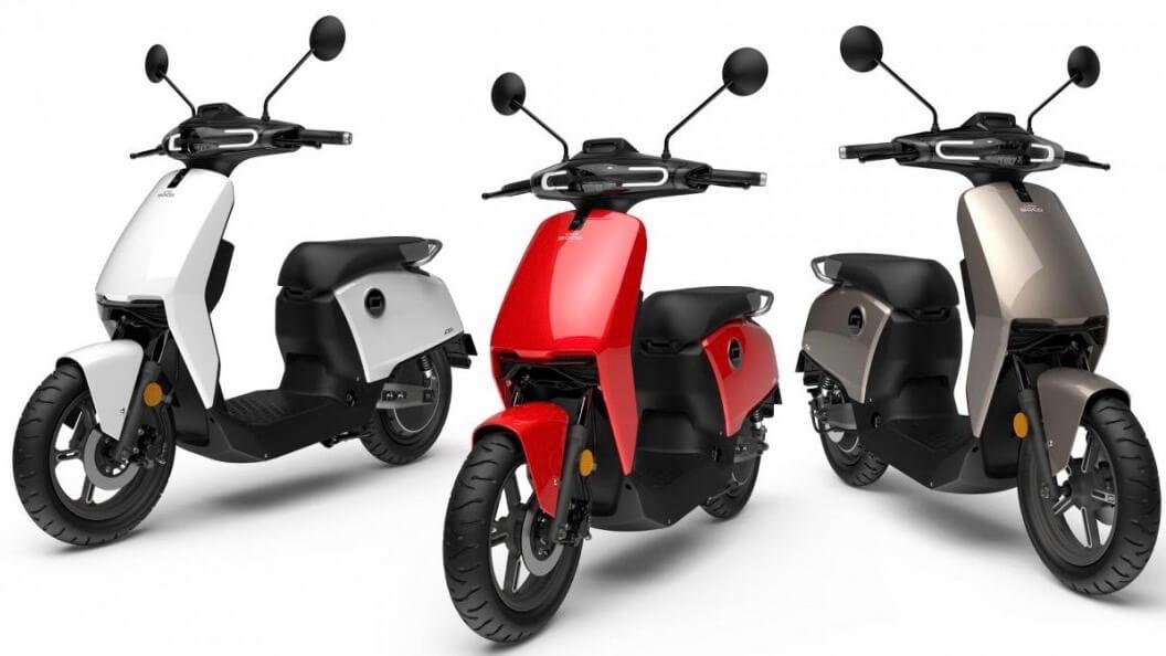 elektrische scooter Super Soco CU