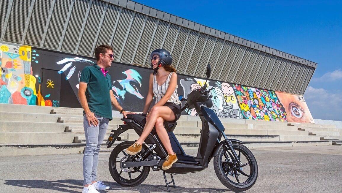 elektrische scooter Torrot Muvi