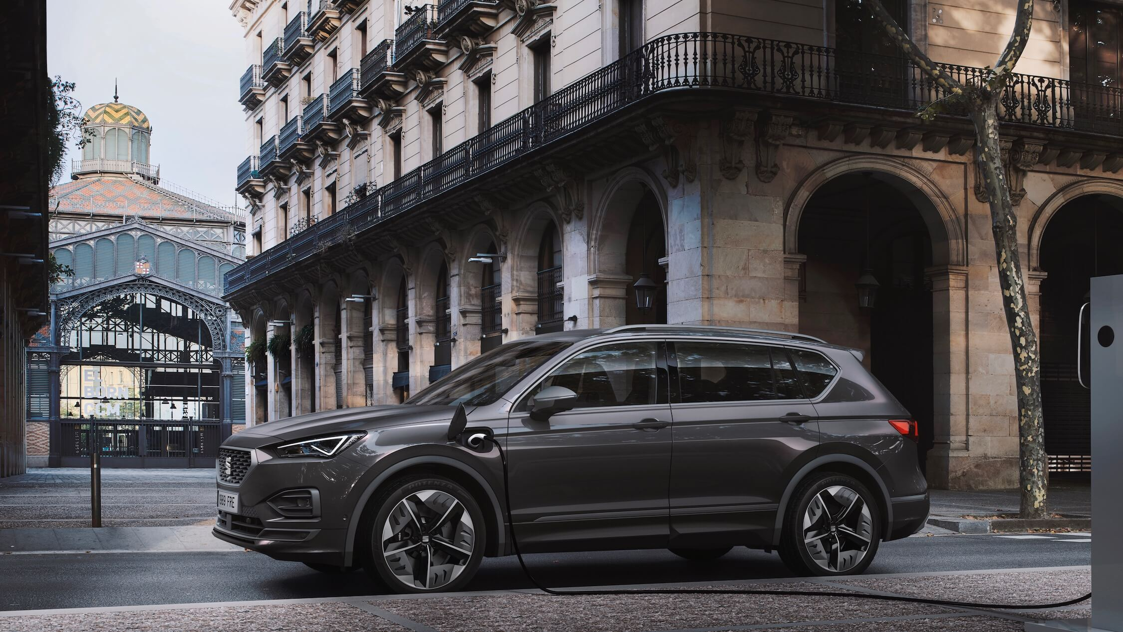 plug-in hybride Seat Tarraco laadkabel