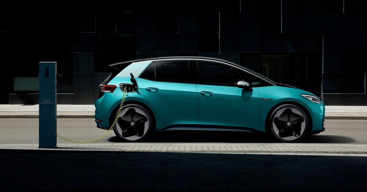 Elektrische Volkswagen ID.3 opladen