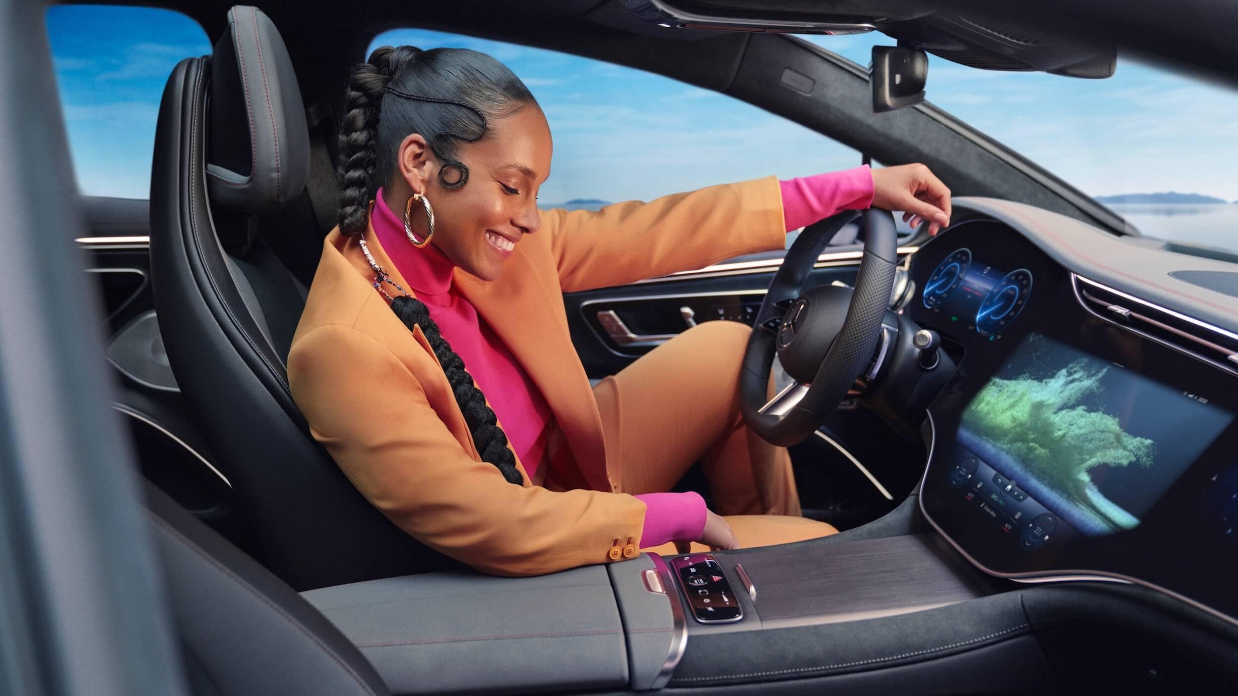 Mercedes EQS interieur 1