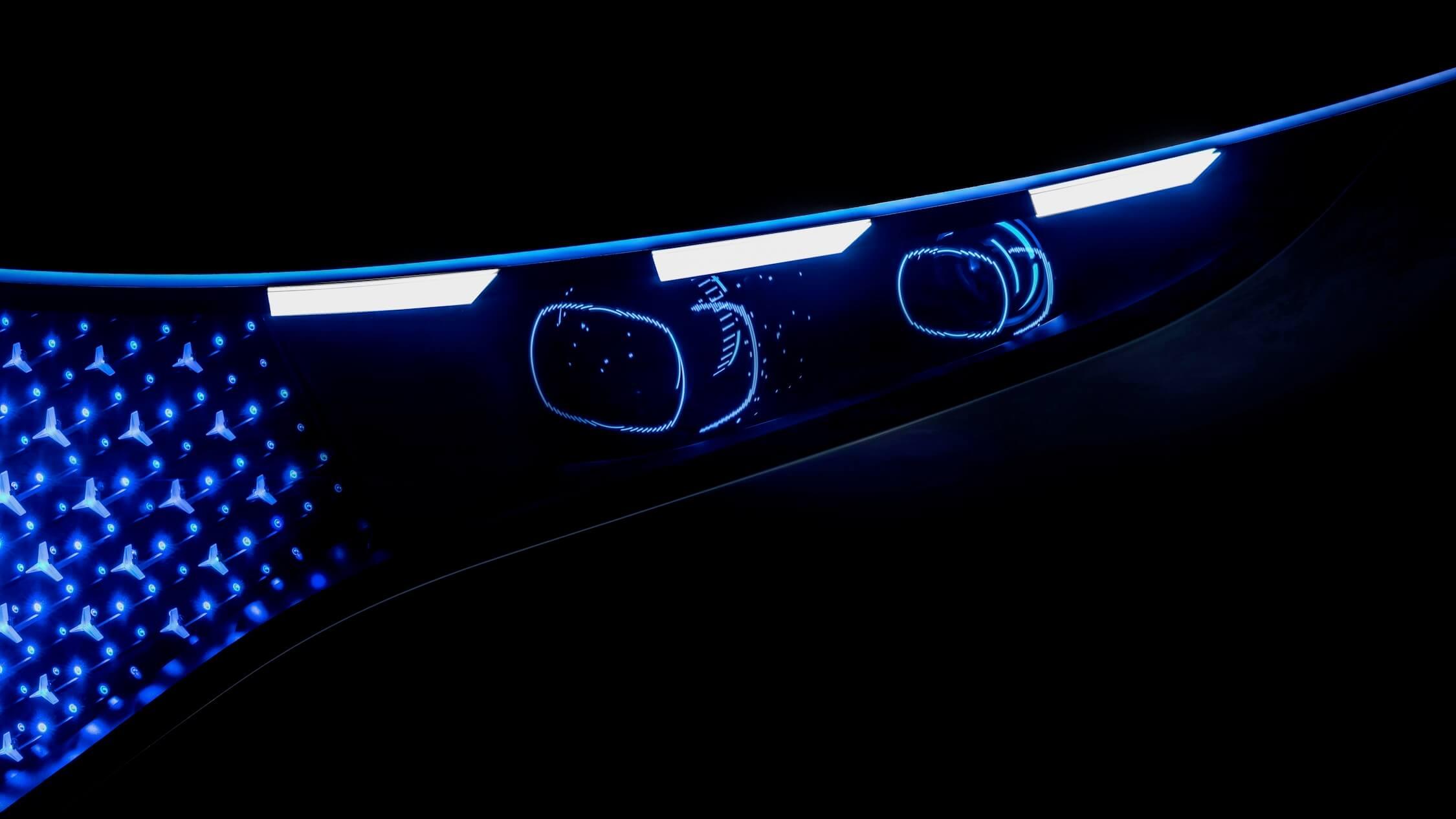 Mercedes EQS led lichten