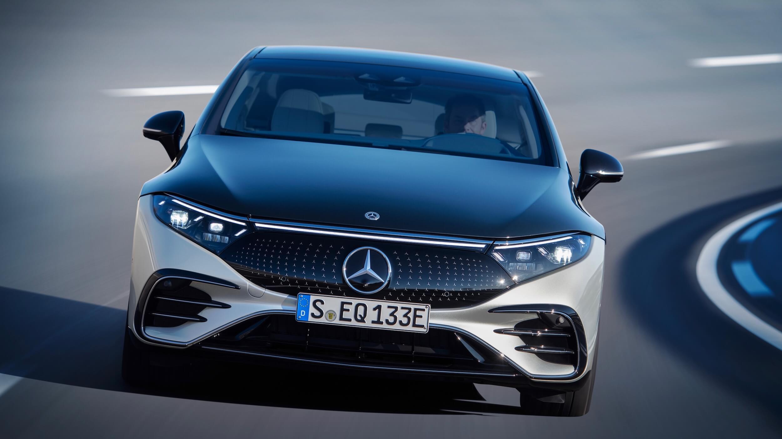 Mercedes EQS voorkant