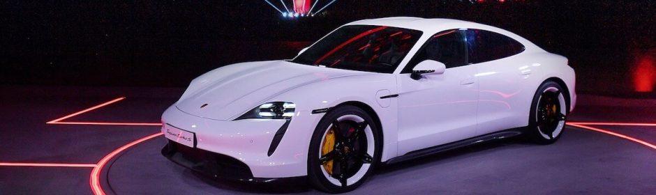 Porsche Taycan premiere