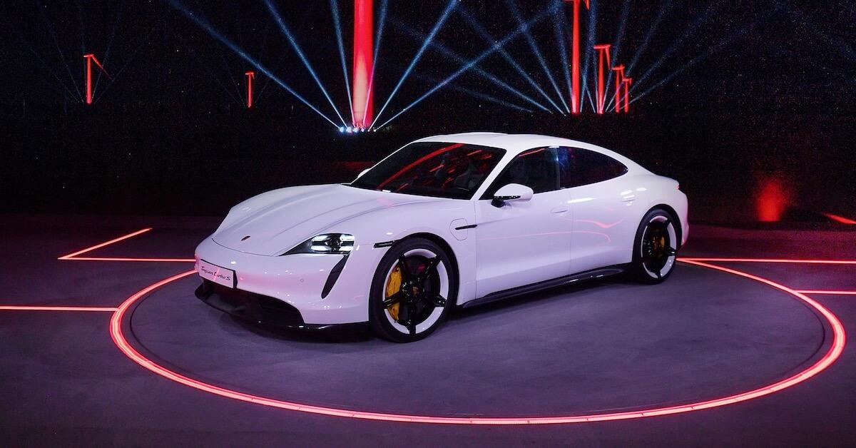 Porsche op autosalon Frankfurt