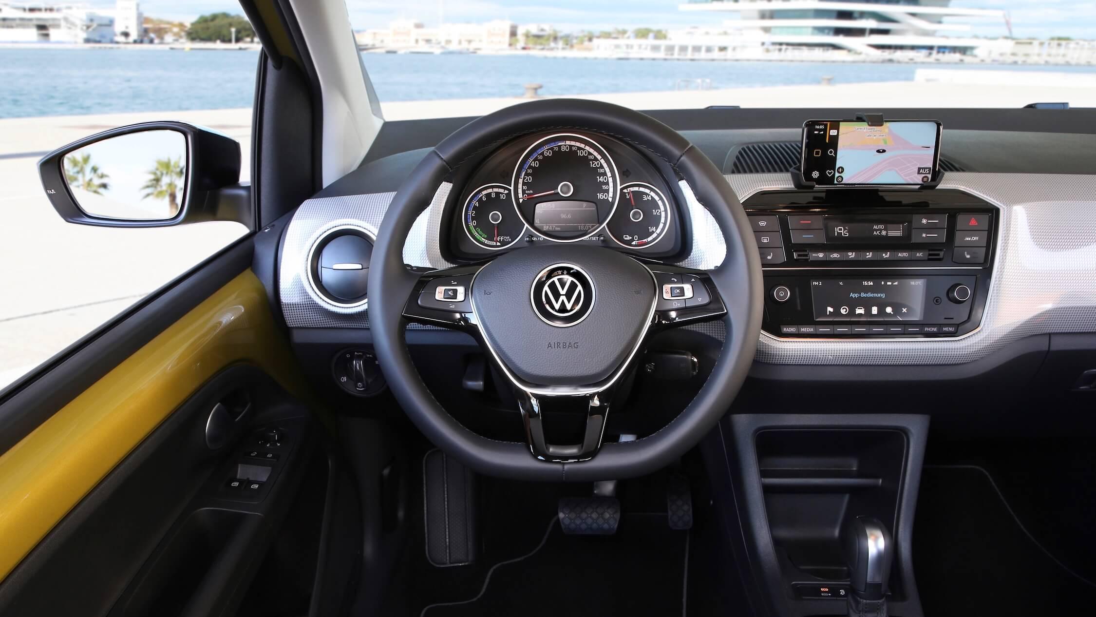 Volkswagen e-Up interieur