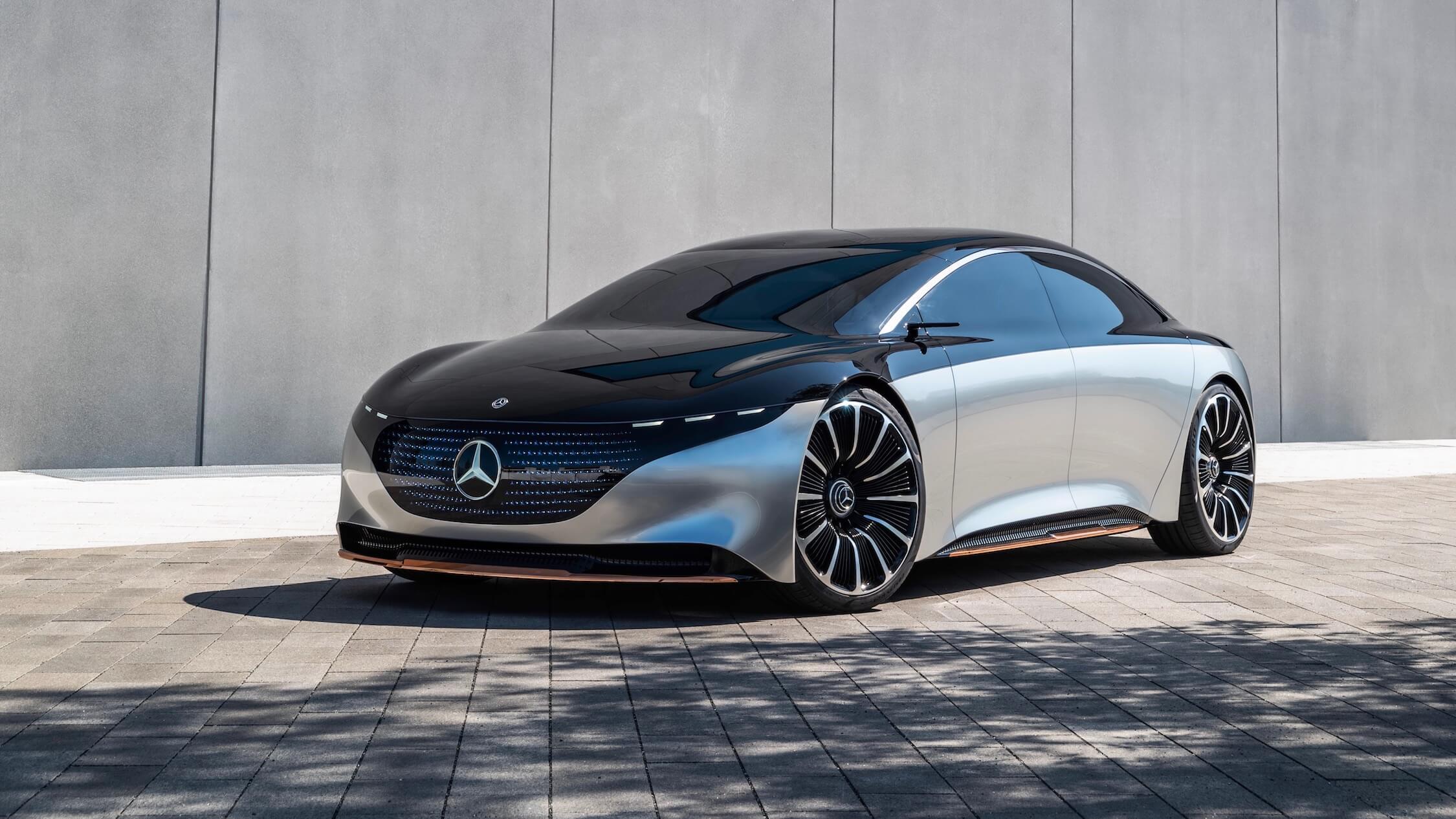 elektrische Mercedes EQS