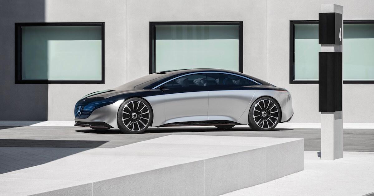 elektrische Mercedes S Klasse EQS