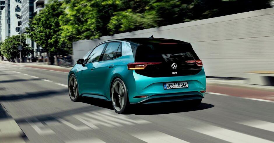 elektrische Volkswagen ID 3