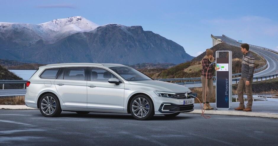 Fiscaal voordelige Volkswagen Passat hybride