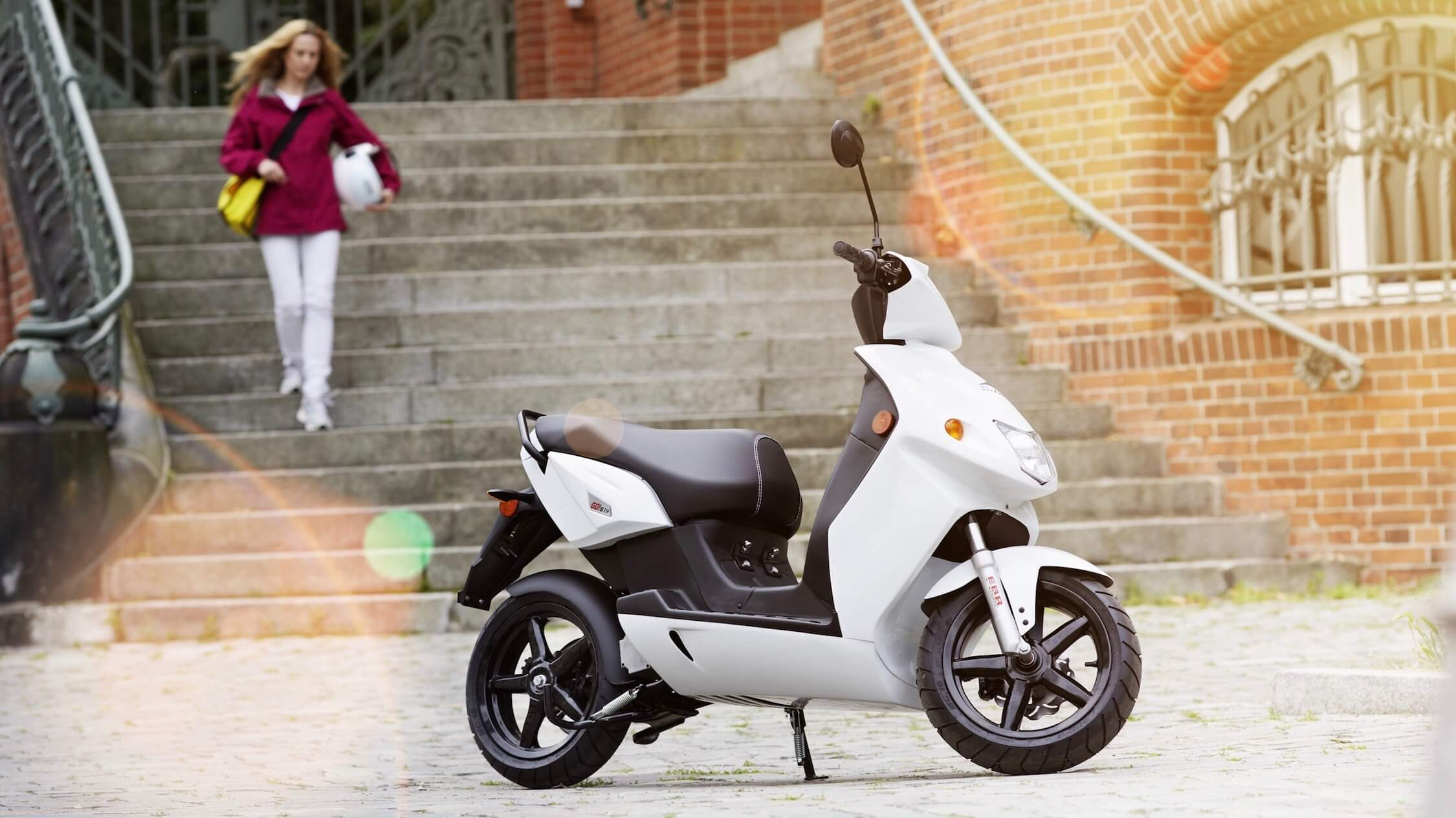 Govecs elektrische scooter