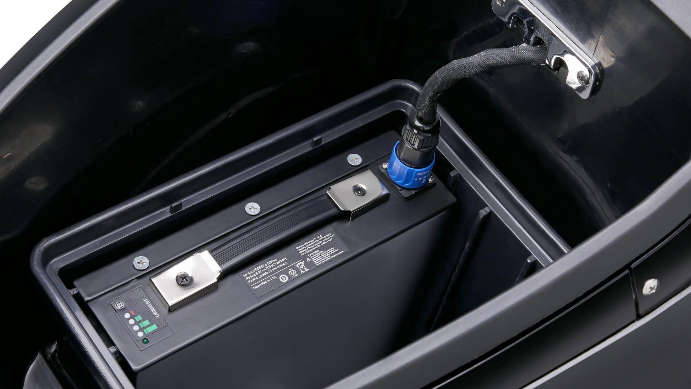 KSR Moto Vionis uitneembare batterij