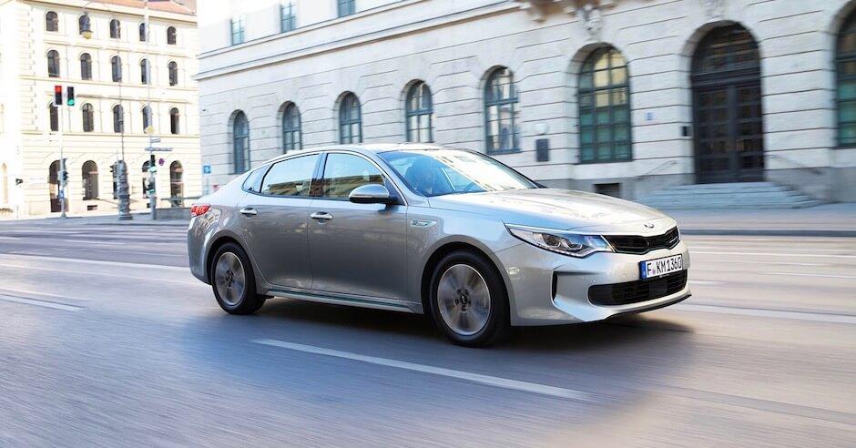 Kia Optima fiscaalvriendelijke plug-in hybride