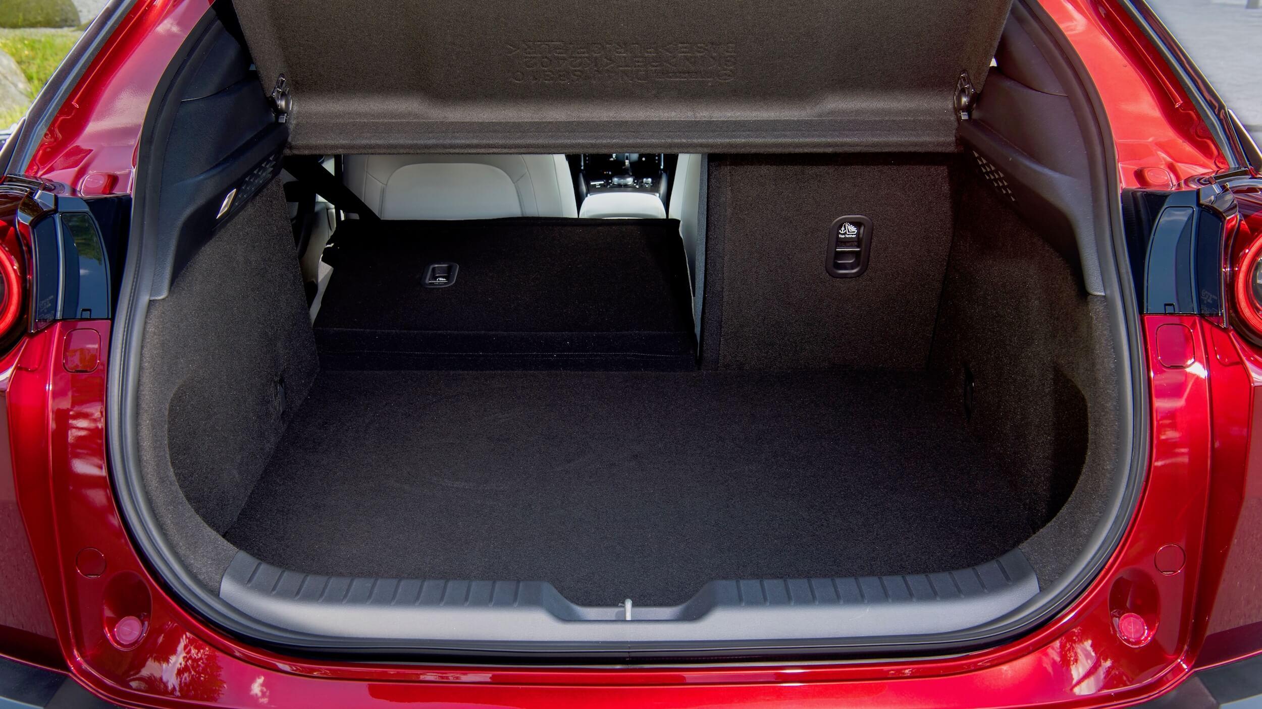Mazda MX 30 koffer