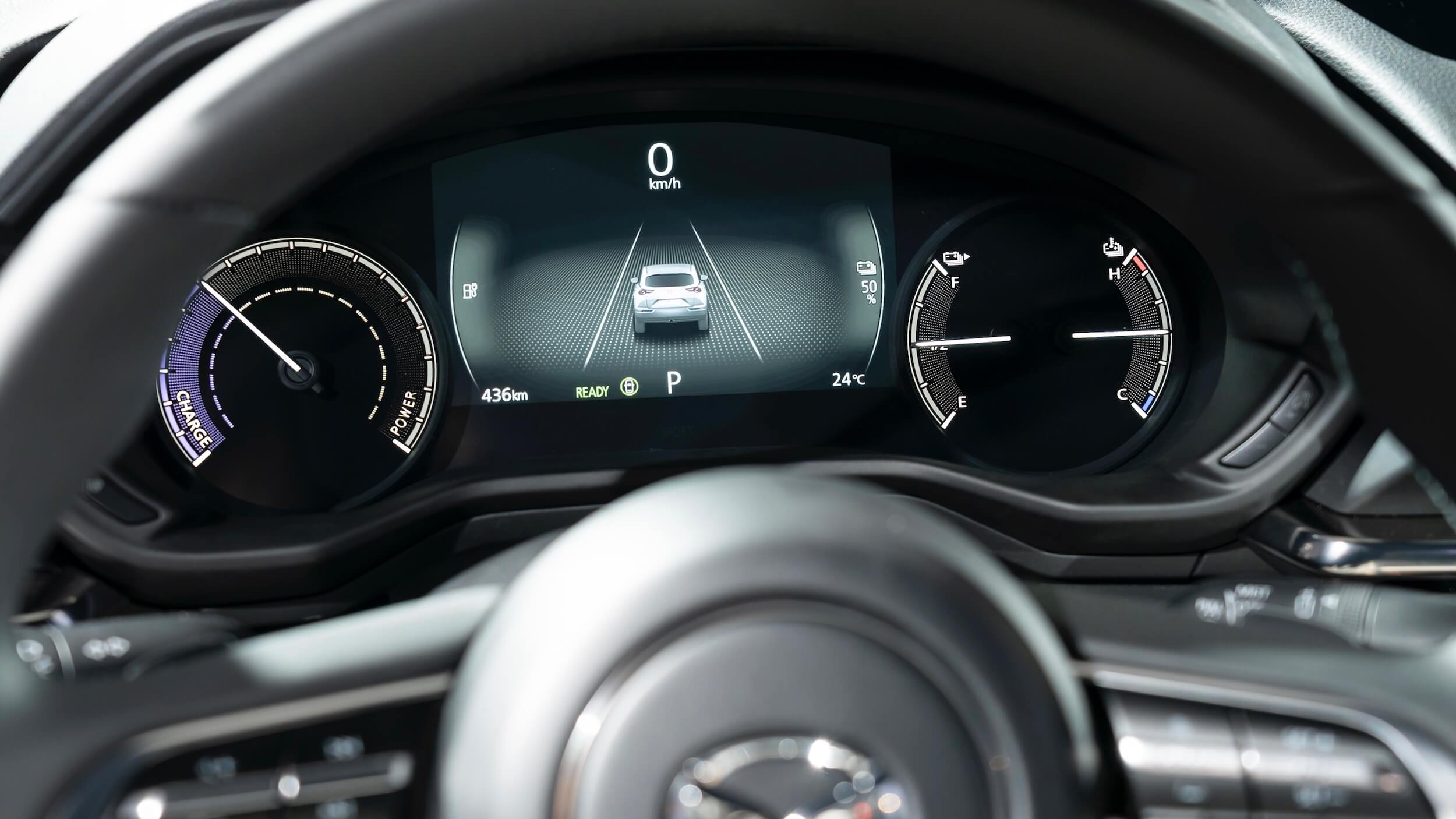 Mazda MX 30 tellers