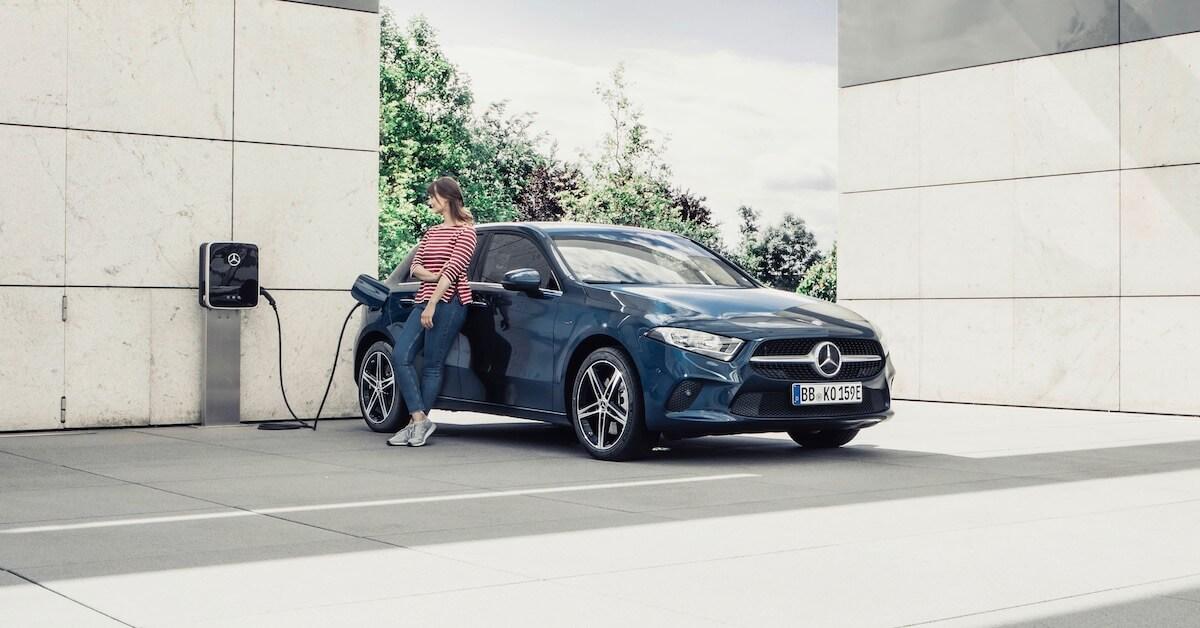 Mercedes A plug-in hybride 2020