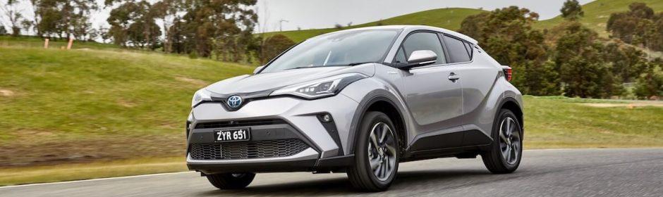 Nieuwe Toyota C-HR hybride 2020