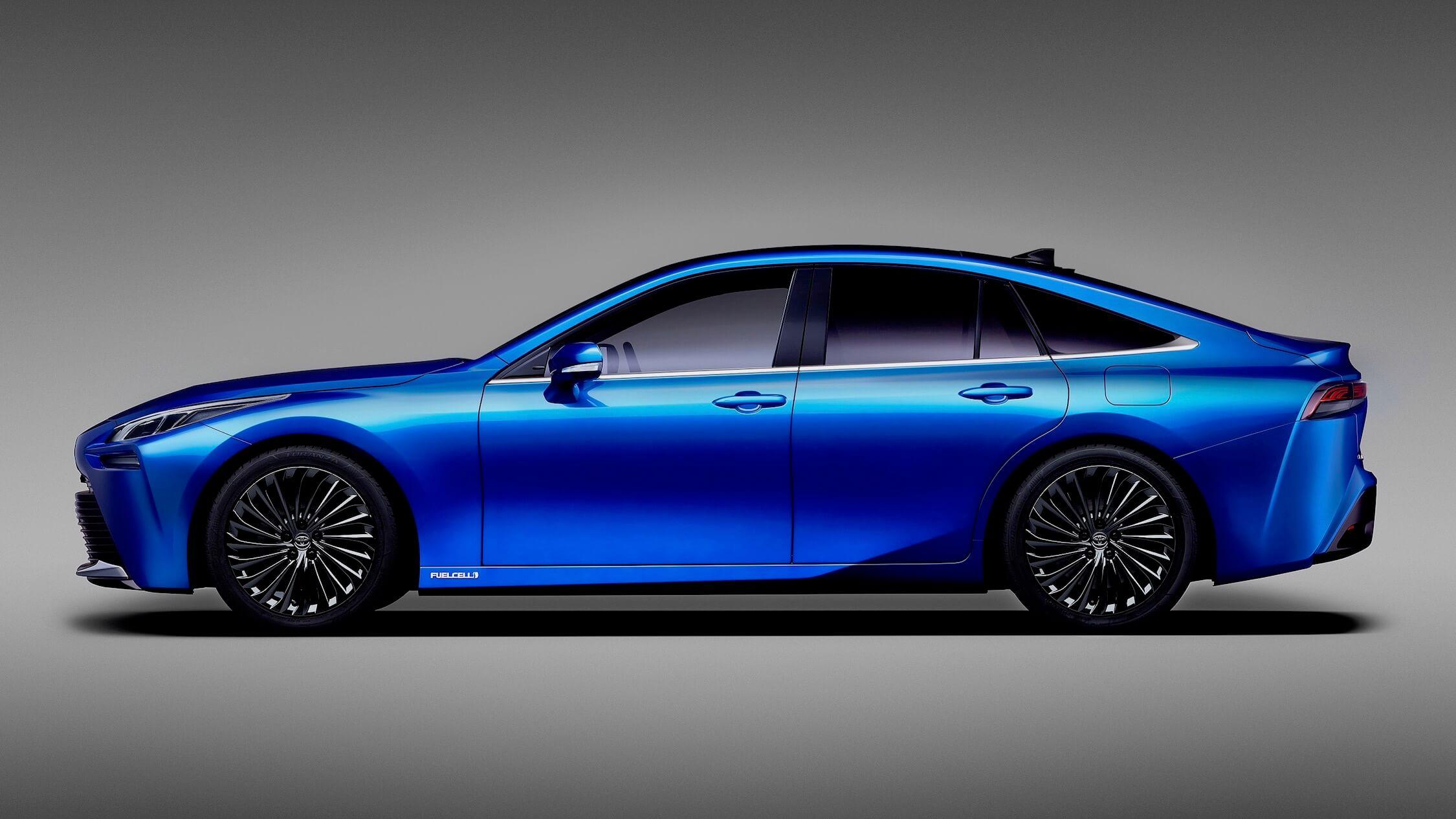 Nieuwe Toyota Mirai profiel