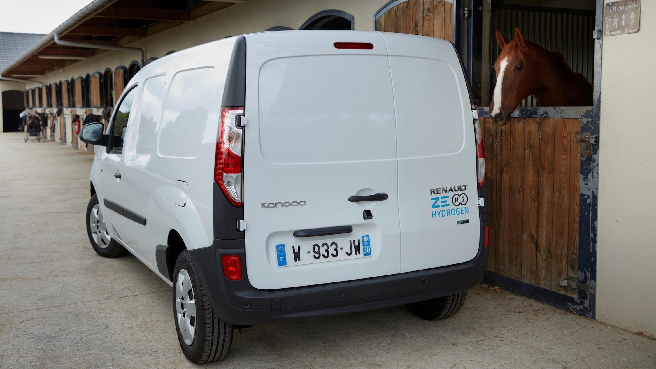 Renault Kangoo op waterstof
