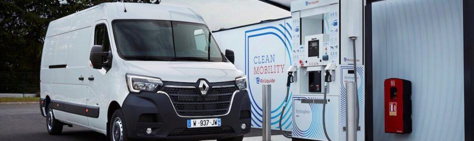 Renault Master op waterstof