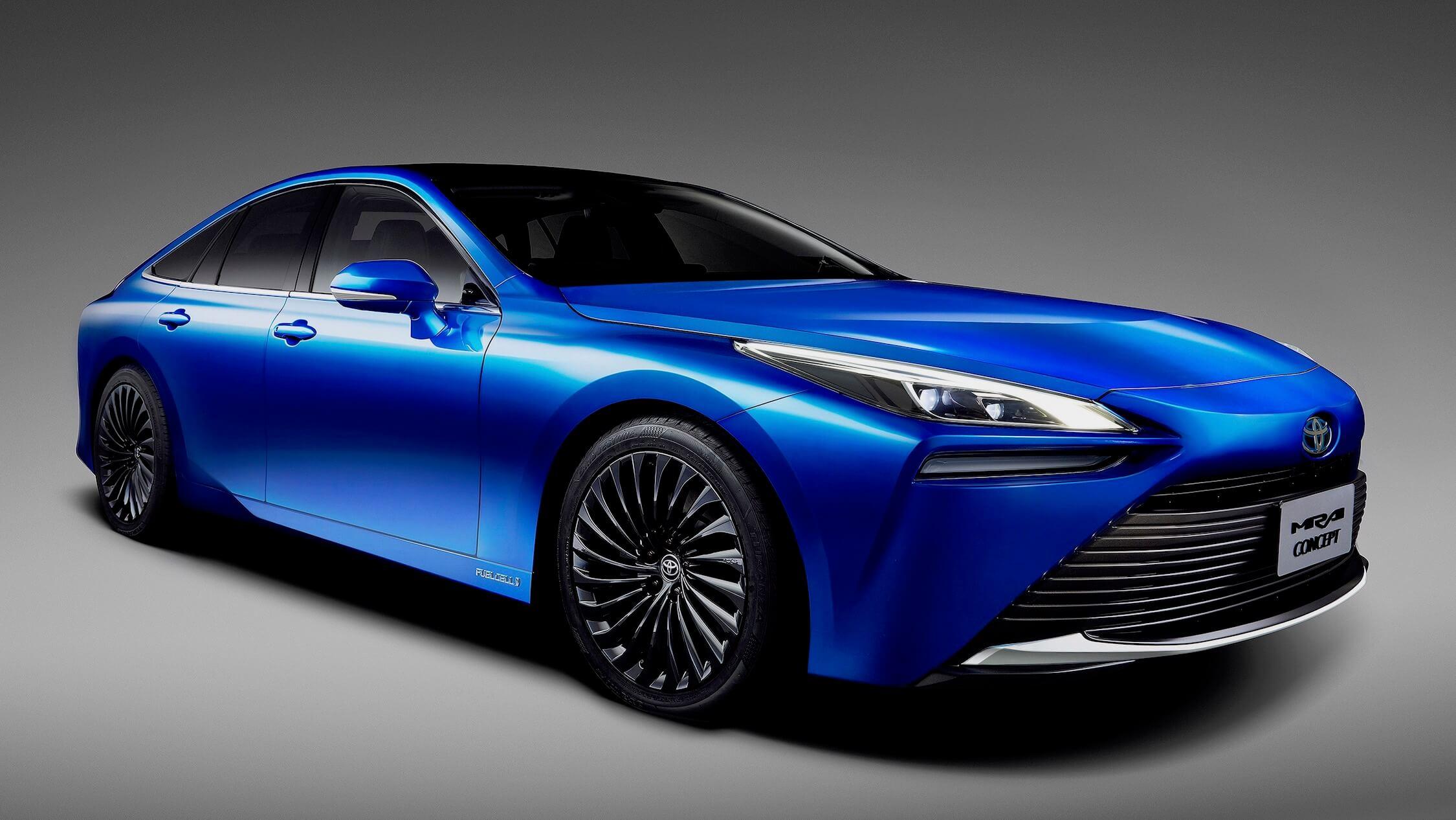 Toyota Mirai 2 waterstof