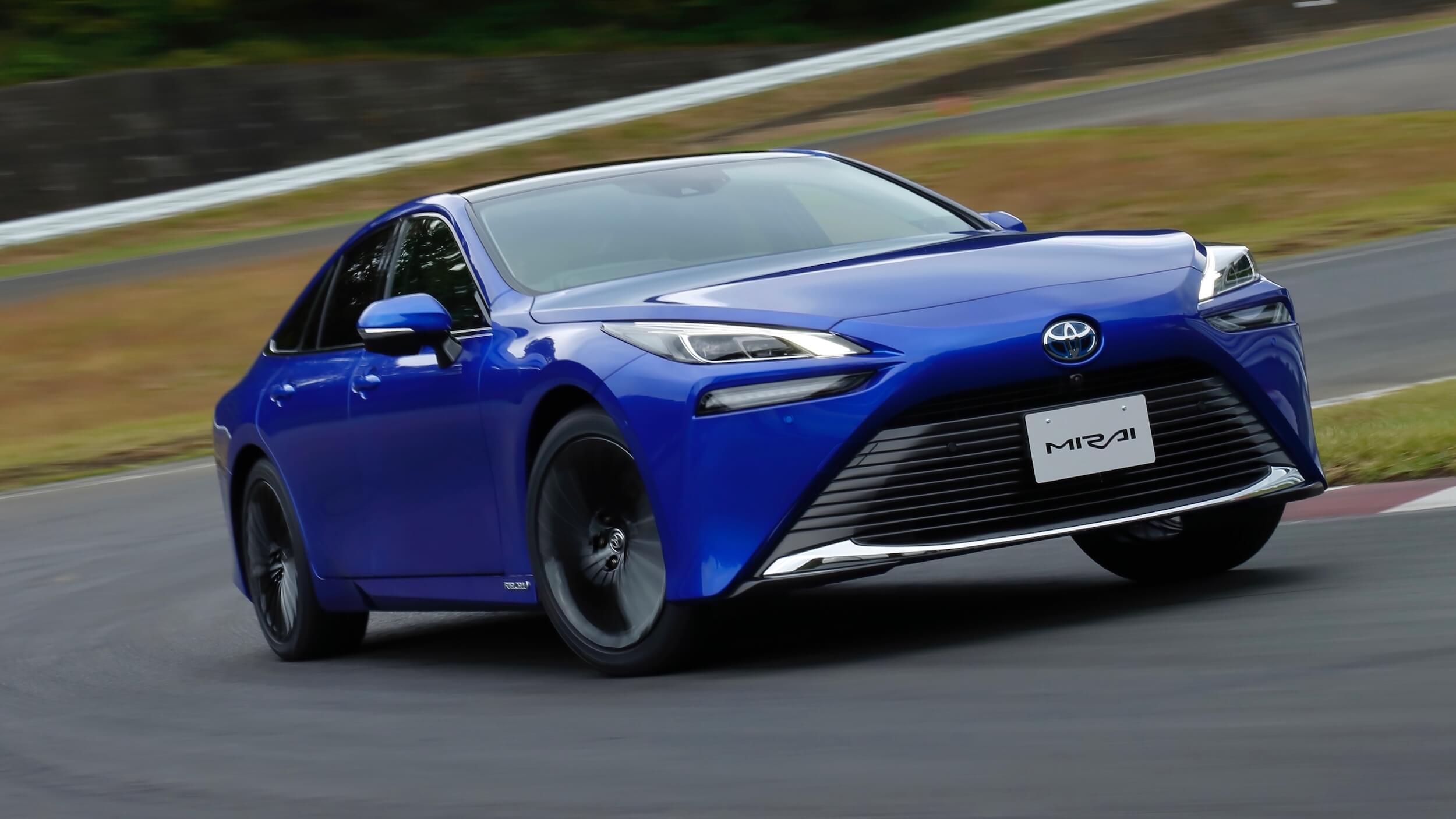 Toyota Mirai op circuit