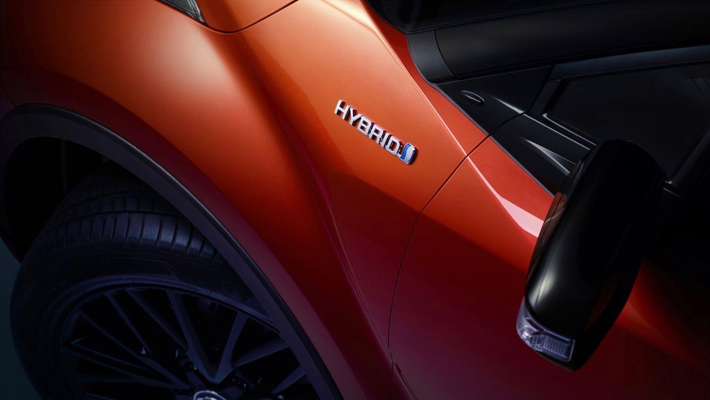 Toyota hybride logo
