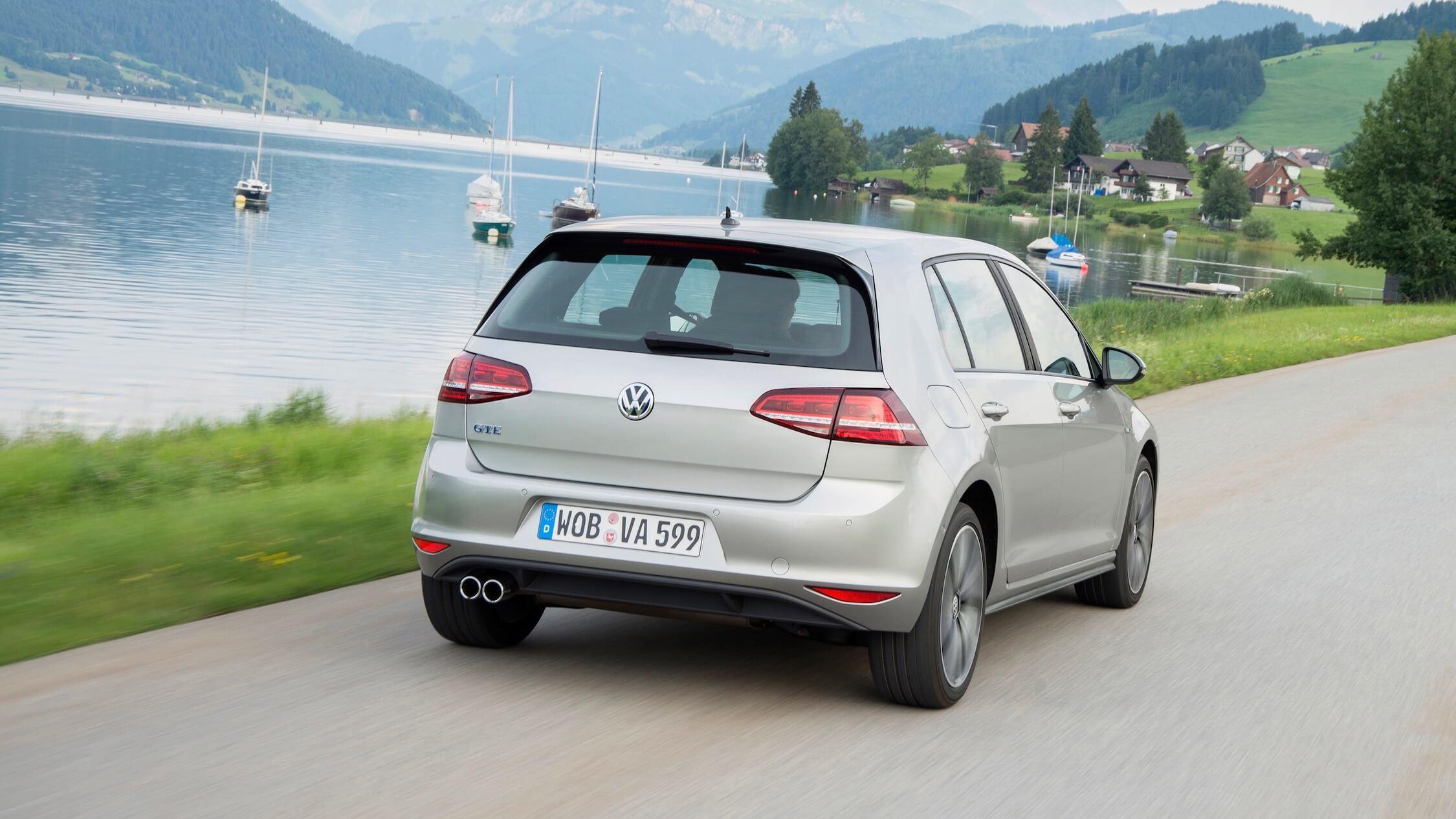 Volkswagen Golf GTE achterkant