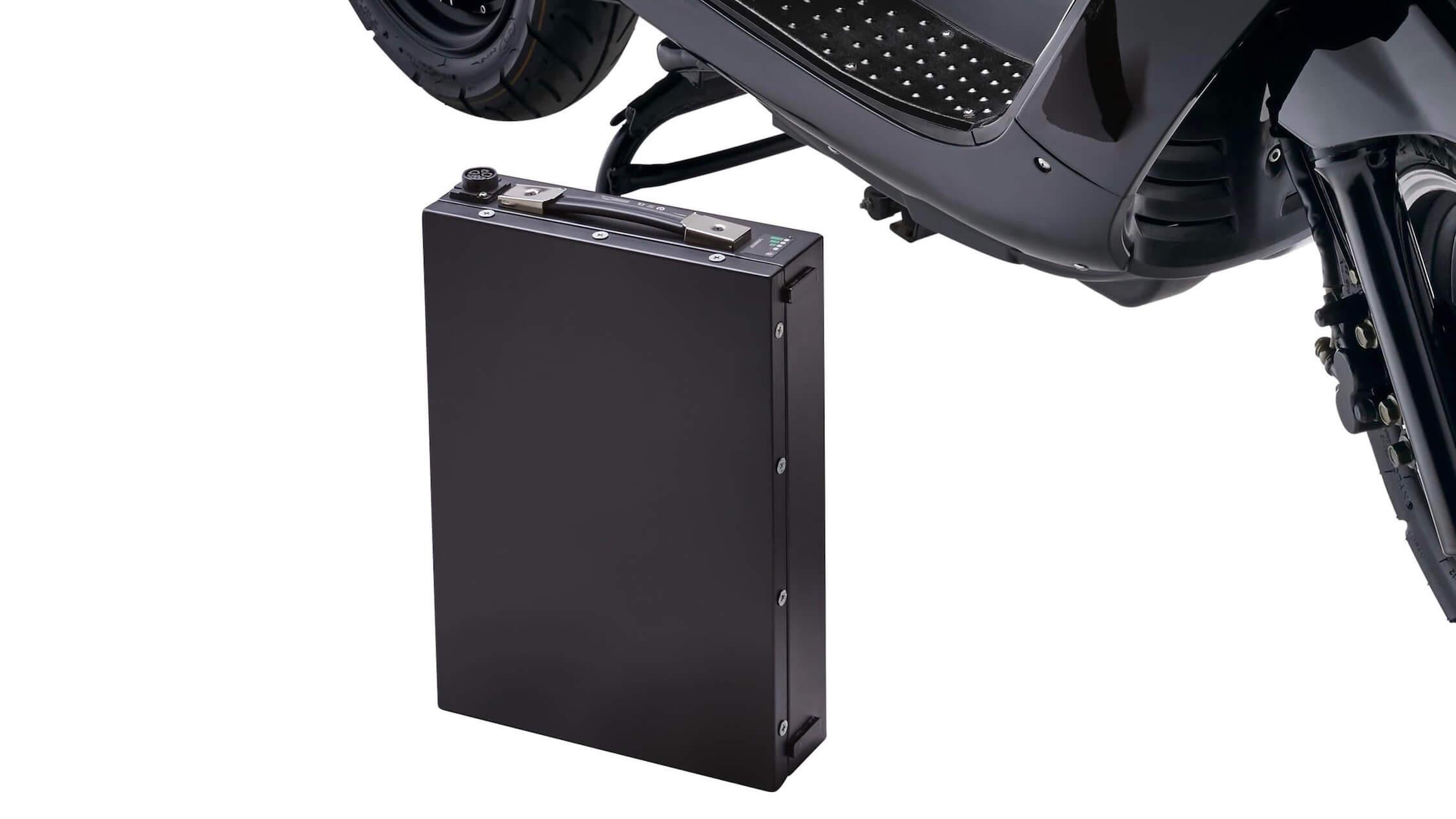 batterij elektrische scooter KSR