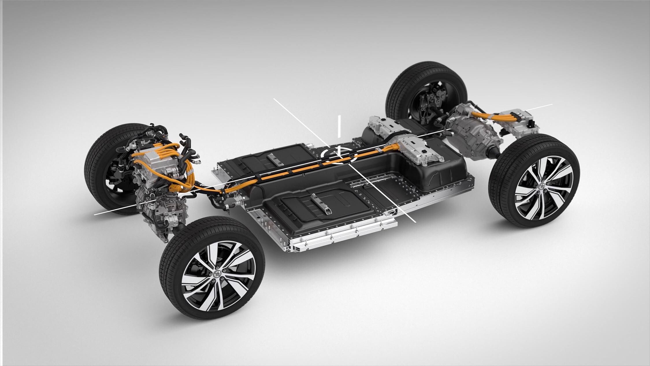 elektrische Volvo XC40 batterij