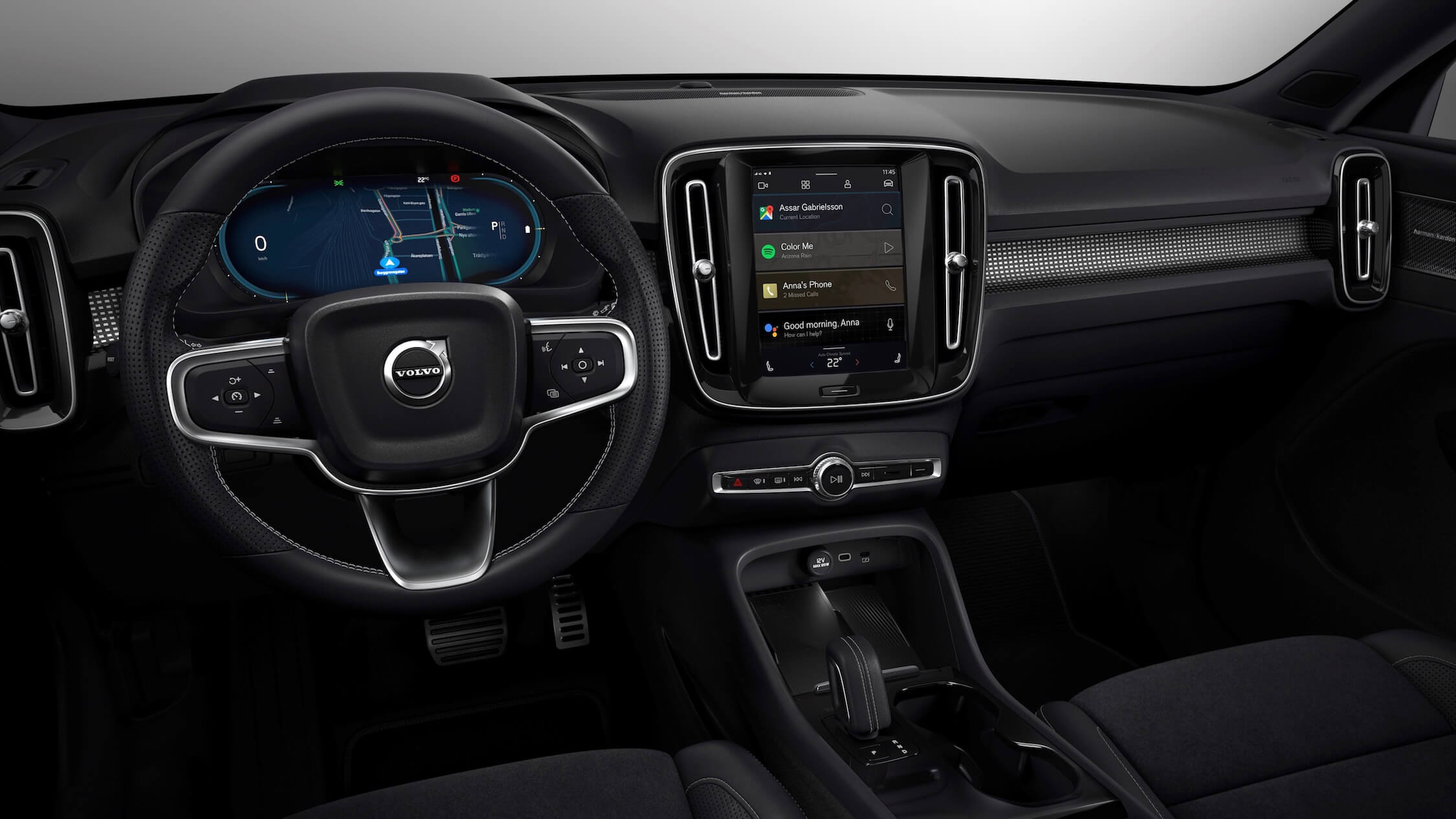 elektrische Volvo XC40 interieur