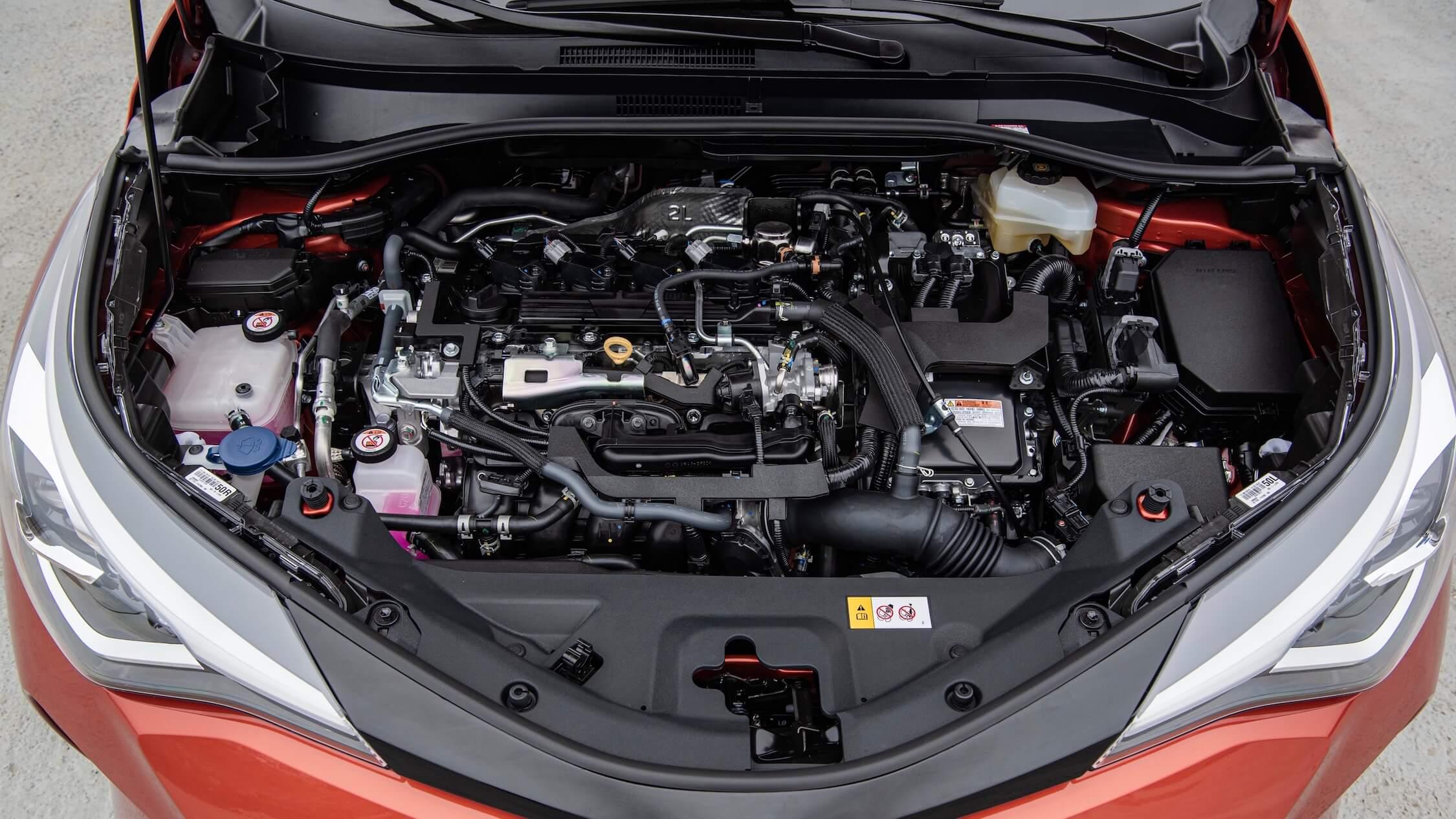 nieuwe Toyota C-HR motor
