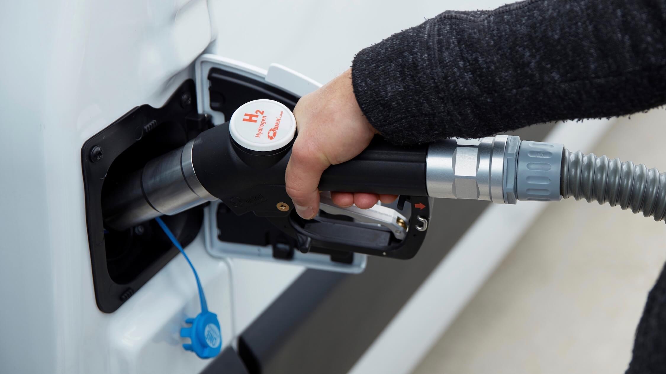 waterstof tanken in Renault