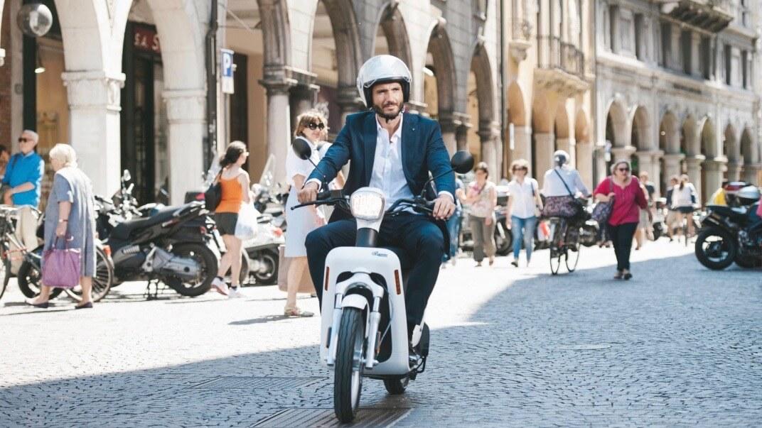 Askoll elektrische scooter