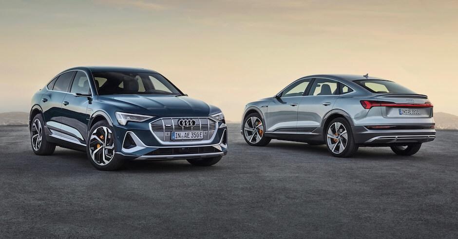 Audi e-tron Sportback 50 en 55