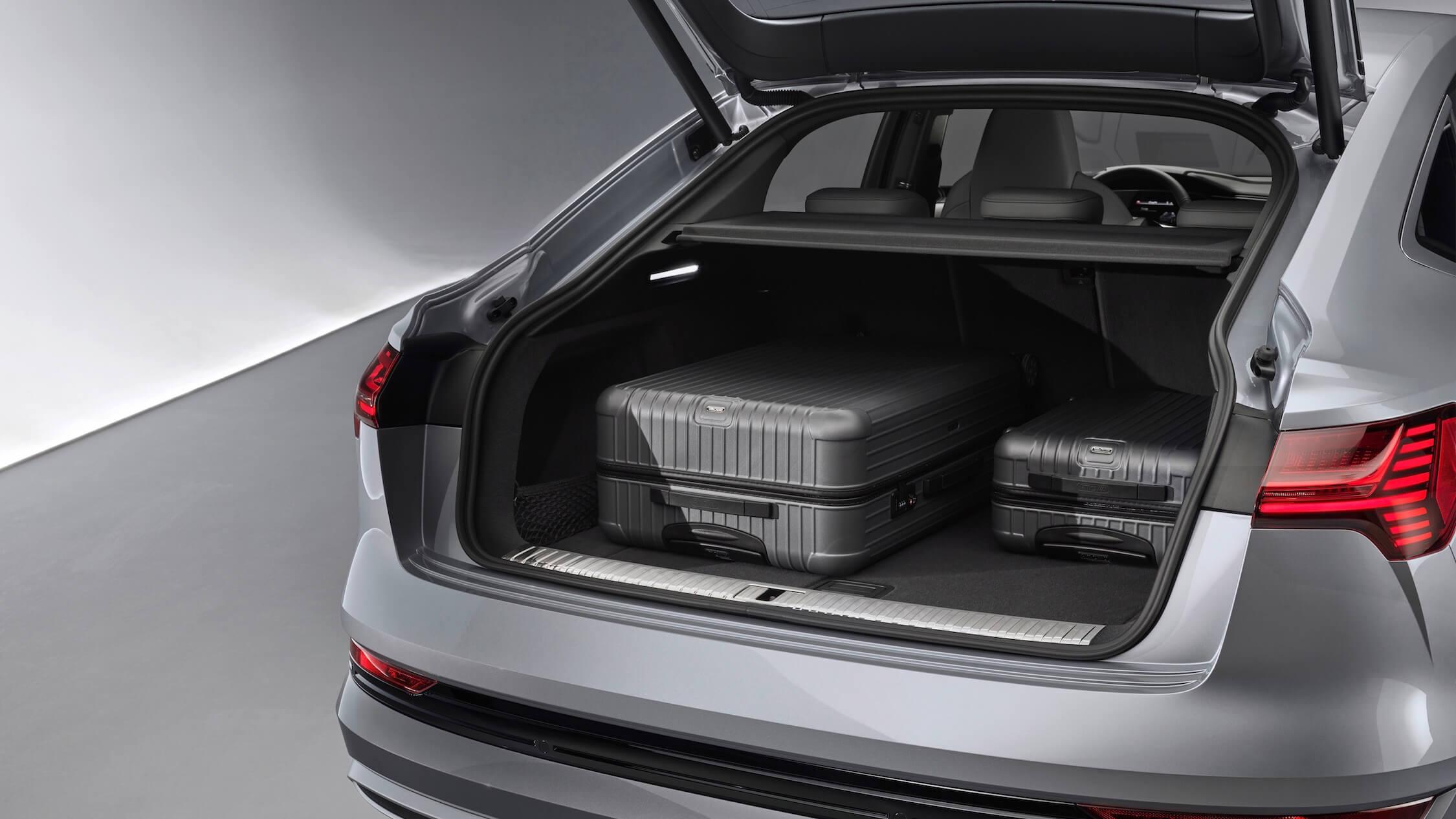Audi e-tron Sportback 55 kofferruimte