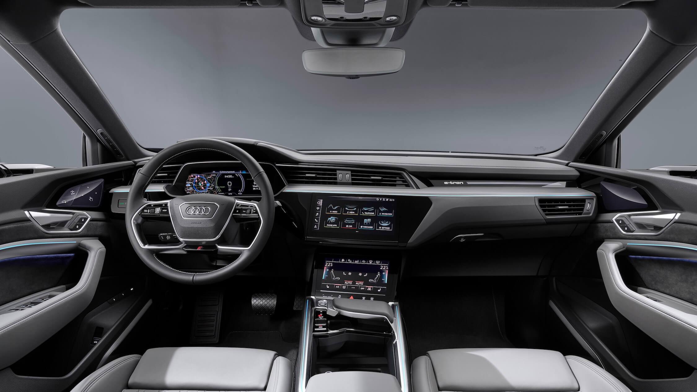 Audi e-tron Sportback interieur