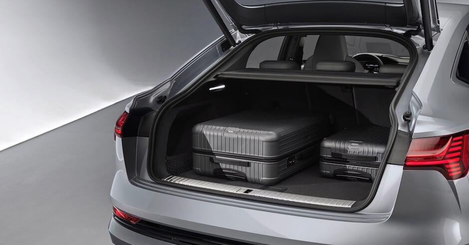Audi e-tron Sportback koffer
