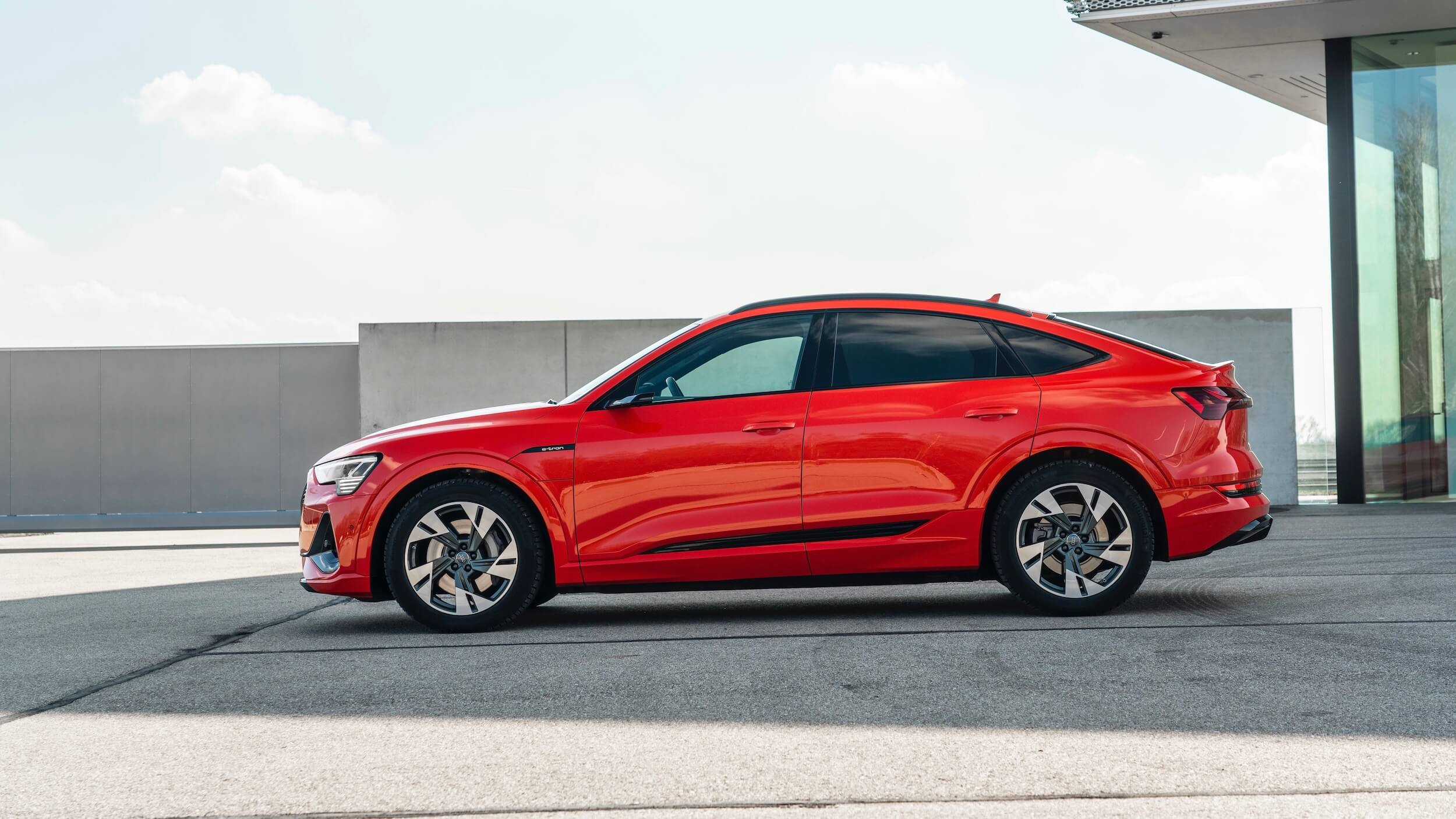 Audi e tron Sportback profiel 1