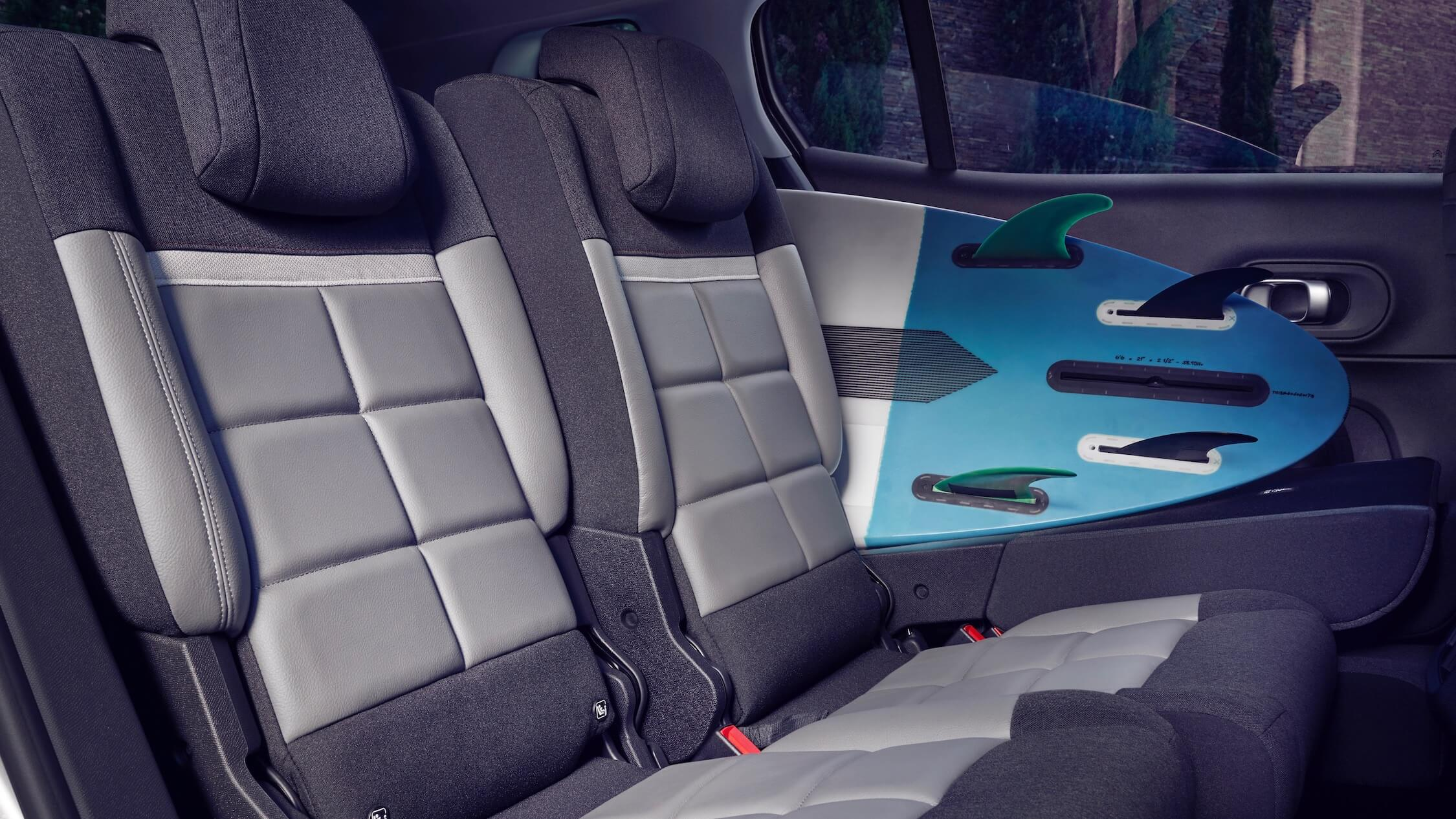 Citroen C5 hybride achterbank