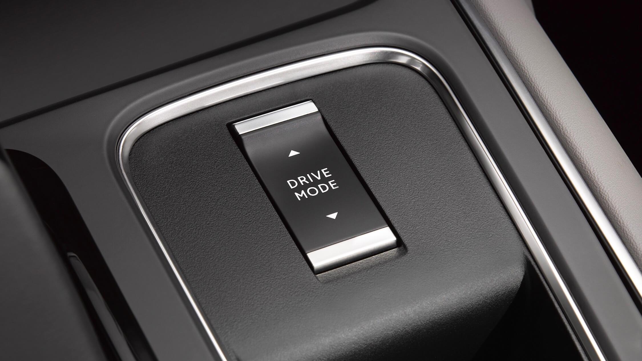 Citroen C5 hybride drive mode