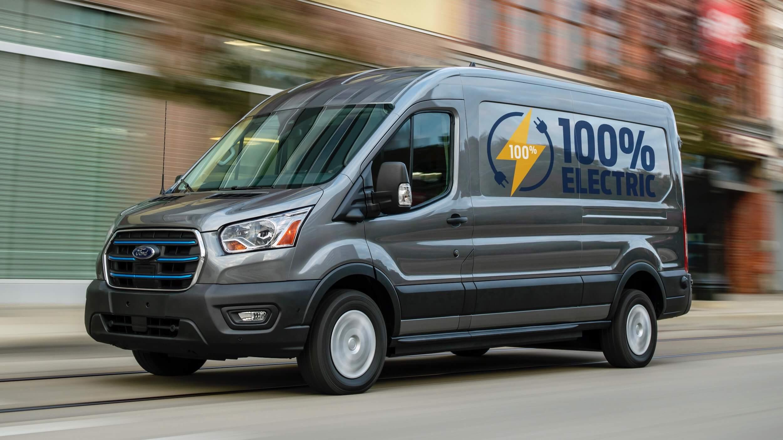 Elektrische Ford Transit