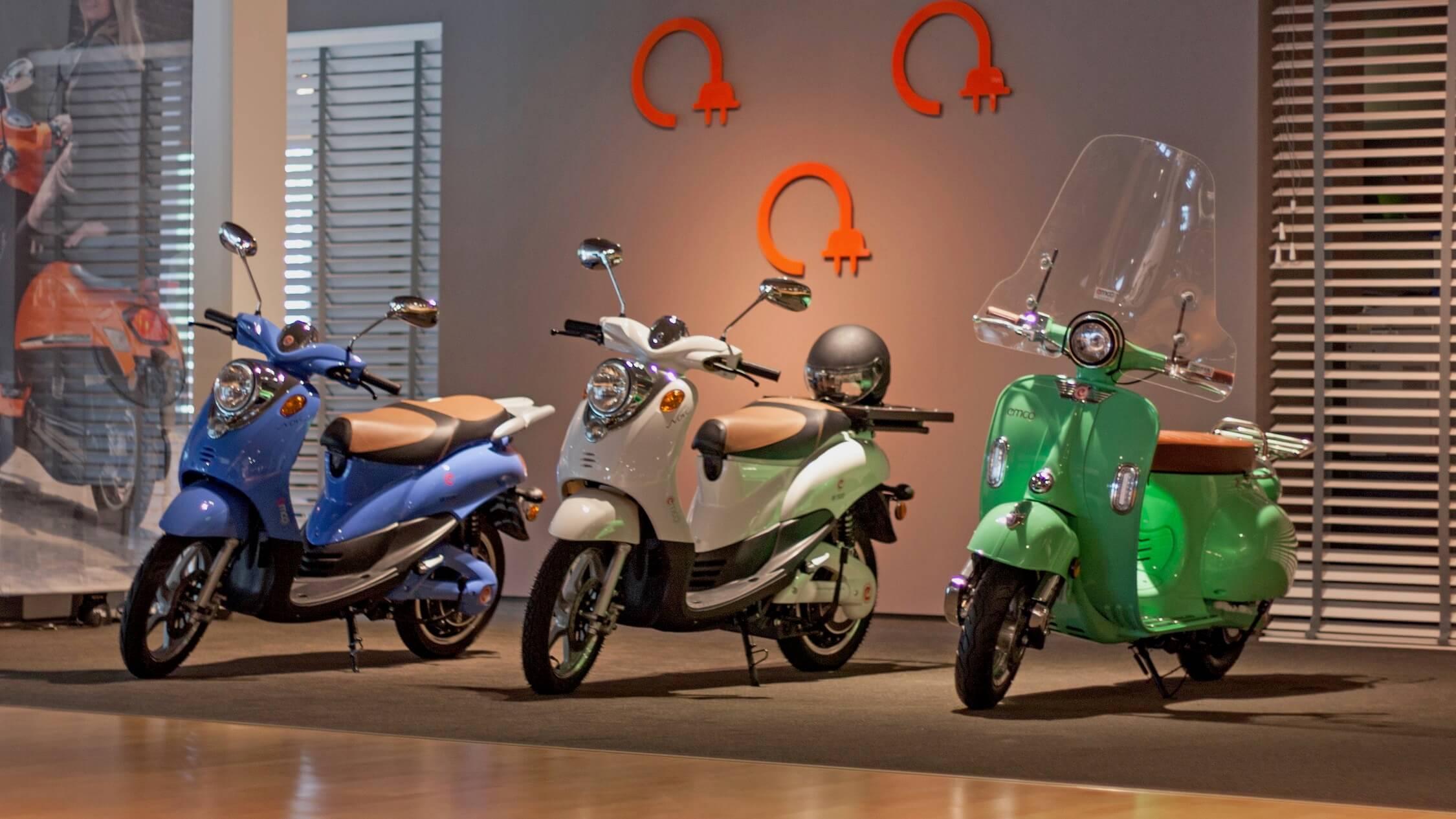 Emco elektrische scooters