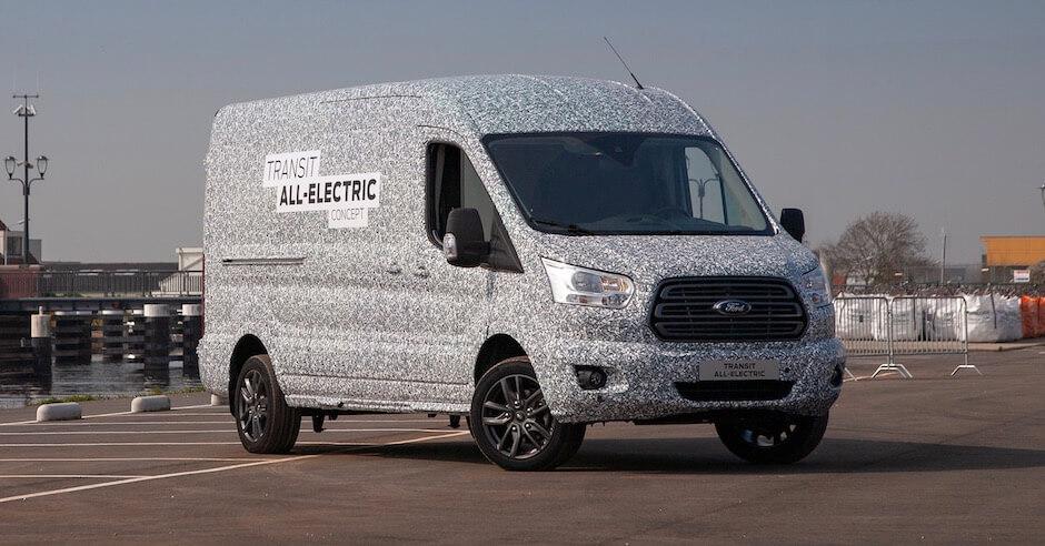 Ford Transit elektrische camionette