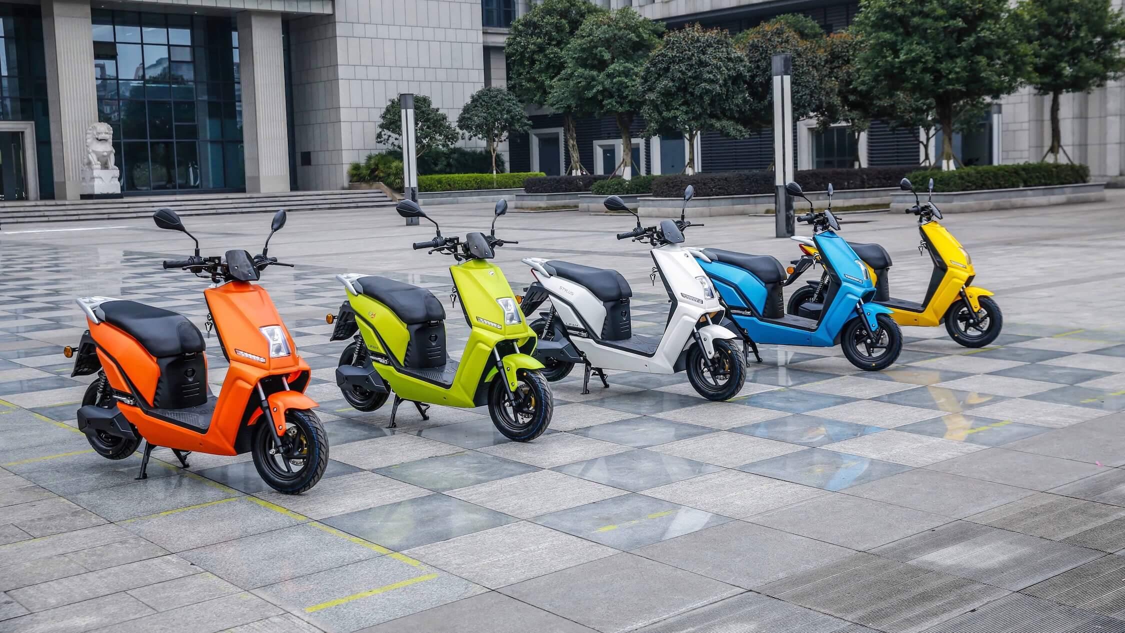 Lifan E3 elektrische scooters
