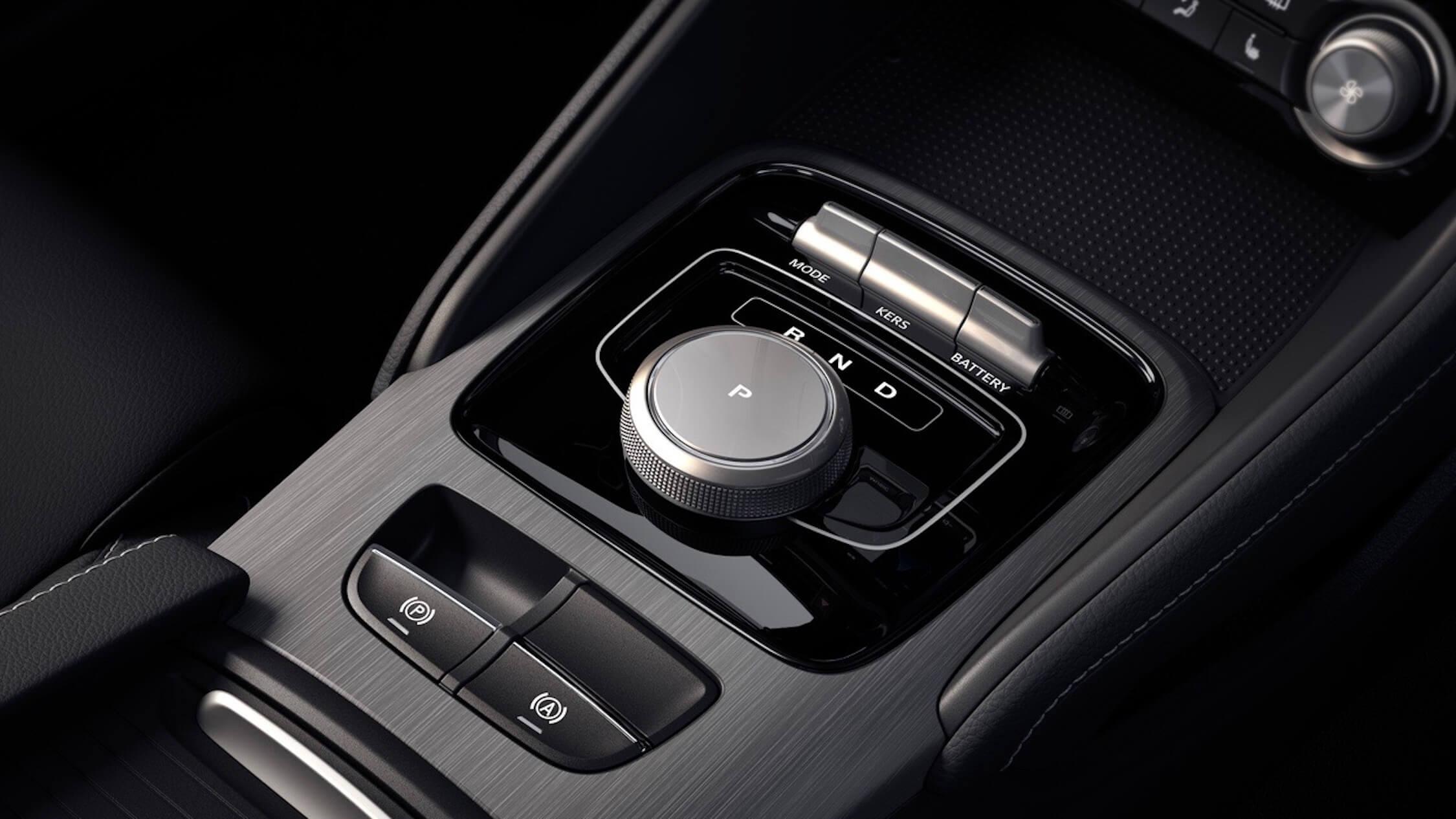 MG ZS EV versnellingsbak