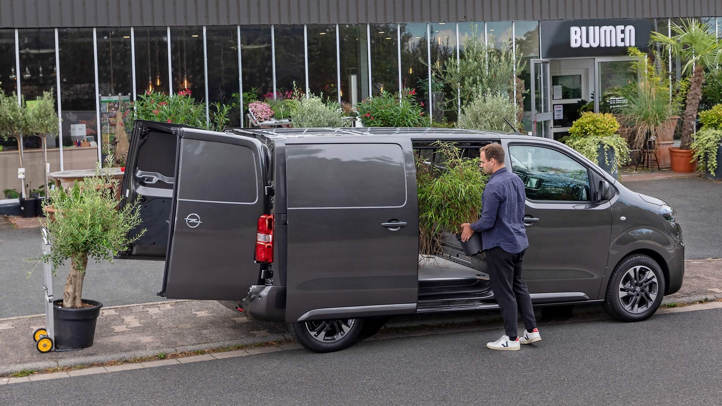 Opel Vivaro e grijs