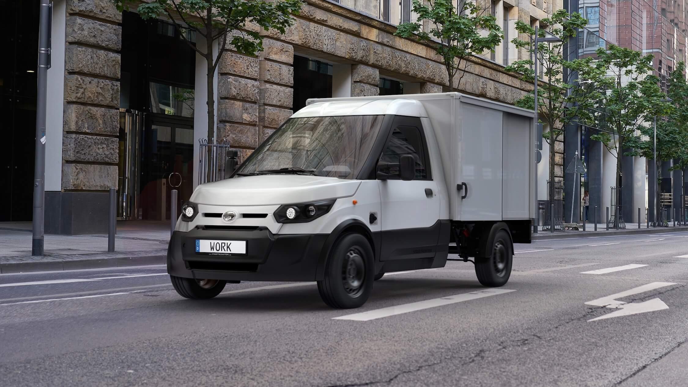 Streetscooter elektrische bestelwagen